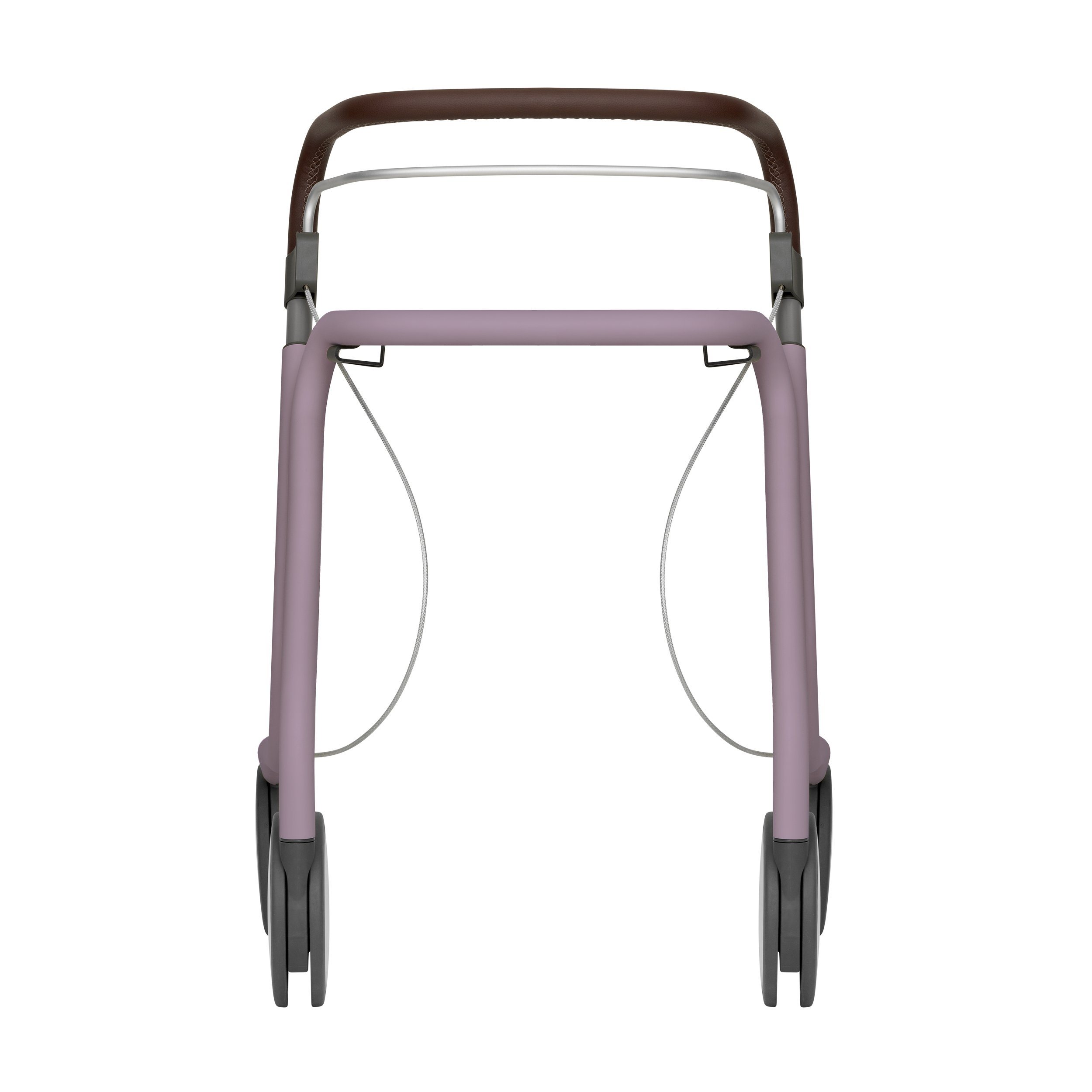Scandinavian Butler rollator in Pastel Violet byACRE - seen from the front