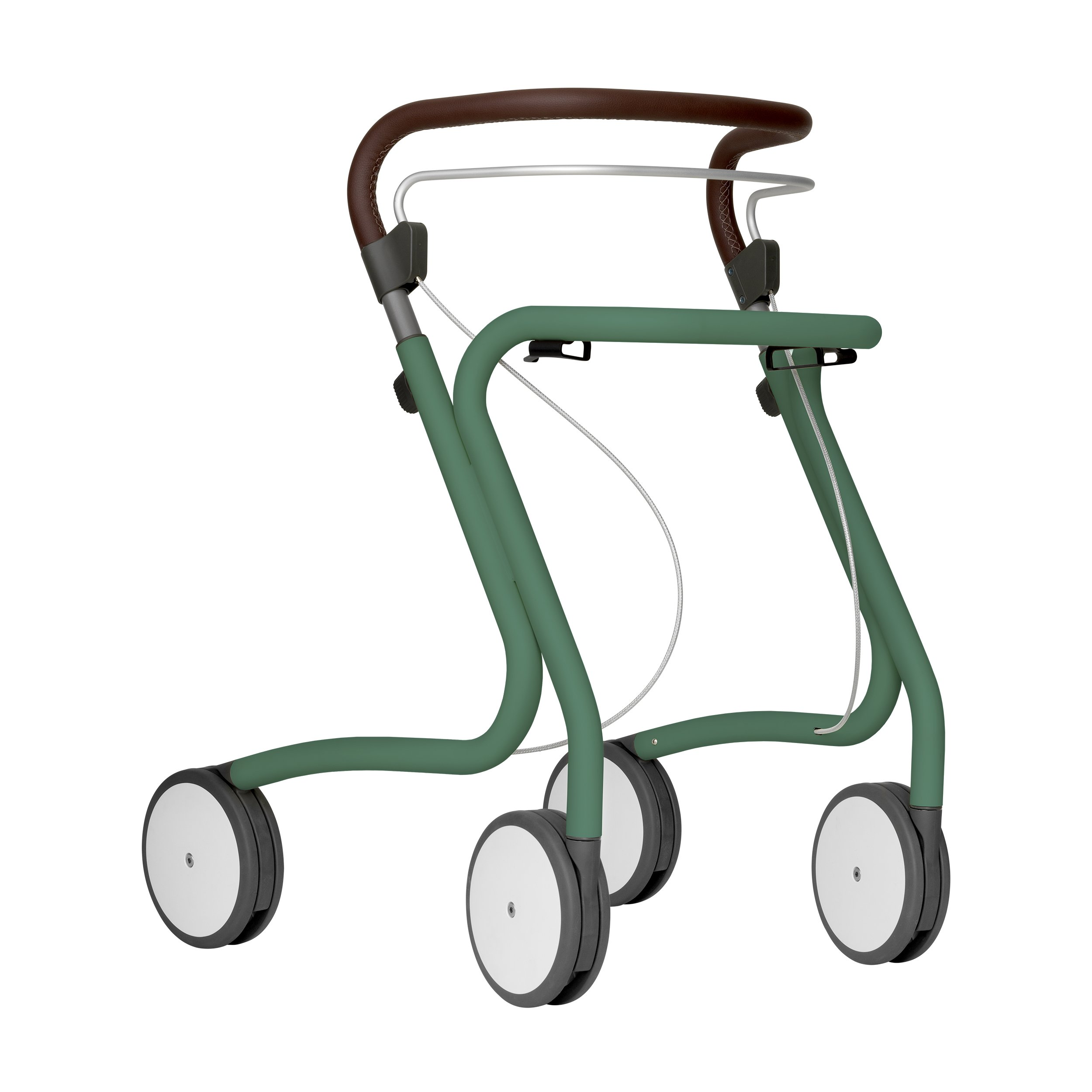 Scandinavian Butler Rollator in Patina Green
