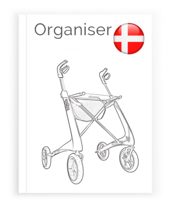 Front page of the Danish User Manual for Organiser bag byACRE