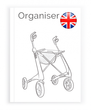 Front page of the English User Manual for Organiser bag byACRE