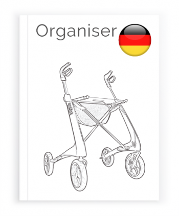 Front page of the German User Manual for Organiser bag byACRE