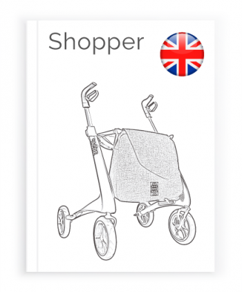 Front page of the English User Manual for Shopping bag byACRE
