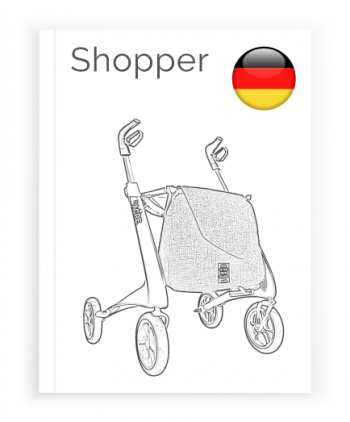 Front page of the German User Manual for Shopping bag byACRE