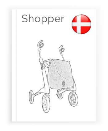 Frontpage of the Danish Manual for the Shopper bag byACRE